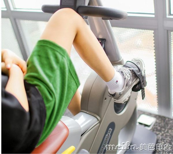 春夏男女情侶短褲五分褲運動休閒小闊腳褲寬鬆大碼褲 美芭