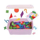 拼圖玩具 七巧板智力拼圖兒童開髮益智力玩具2-3-4-6-7周歲男孩女寶寶木質免運