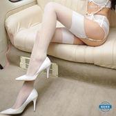 吊帶襪高筒超寬無彈力羅口長筒襪 性感情趣絲襪誘惑 吊襪帶大腿襪 全館限時88折