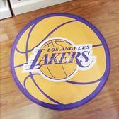NBA個性創意圓形地毯臥室兒童卡通地墊【大小姐韓風館】