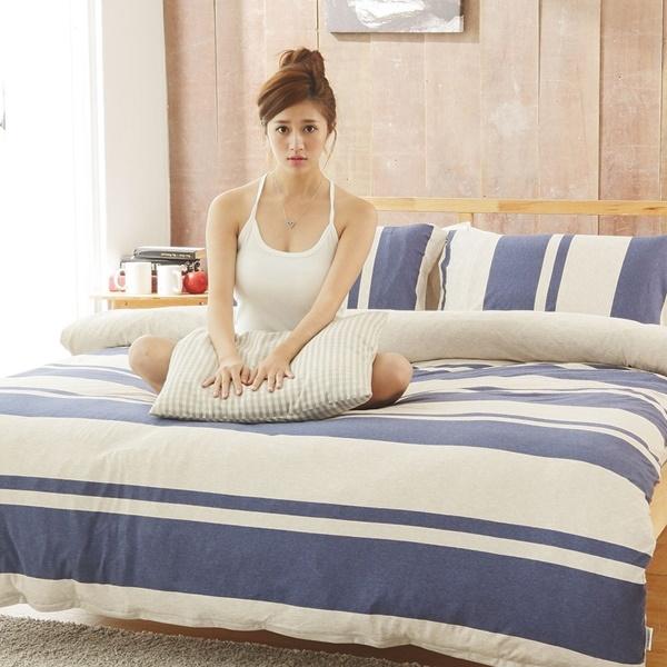 #KC008#新款上市100%純棉針織床包被套雙人四件組/全棉/新疆棉/天竺棉