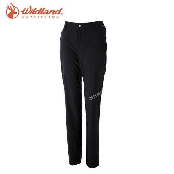 【WildLand荒野】S2371女彈性四季款長褲 (S~2L) / 城市綠洲 (雙向彈性、露營、戶外休閒、旅行)