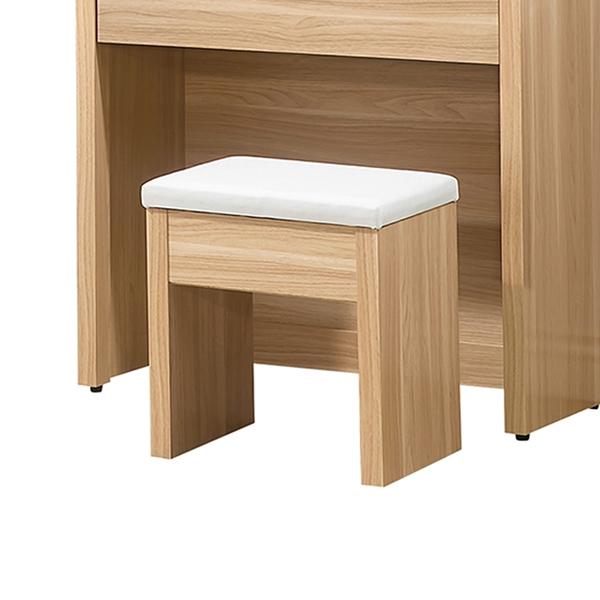 卡妮亞化妝椅(皮面)(21JS1/128-6)/H&D東稻家居