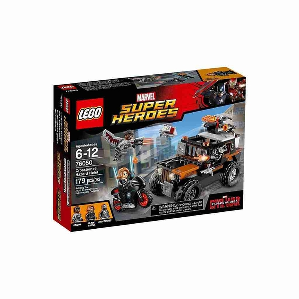 LEGO 樂高 美國隊長3:英雄內戰 Crossbones Hazard Heist 十字骨攔截戰 76050