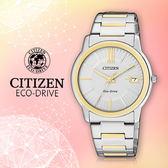CITIZEN 星辰手錶專賣店 FE6014-59A 女錶Eco-Drive光動能 日系 不鏽鋼錶殼錶帶 銀 強化玻璃鏡面