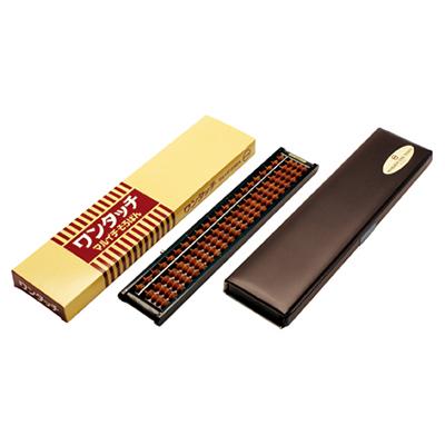STRONG 自強牌 日本丸一高級 M6000 自動式 珠算算盤 4x22檔(樺玉)