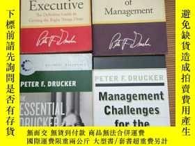 二手書博民逛書店The罕見essential Drucker,etc (德魯克經典管理著作五冊合售)Y115089 Druck