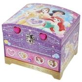 〔小禮堂〕迪士尼 公主 雙層掀蓋珠寶盒附鏡玩具組《紫.鑽石》化妝玩具.兒童玩具 4901771-30676