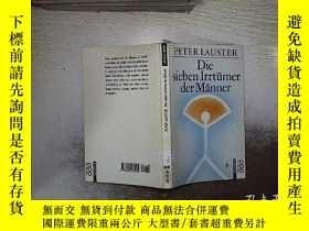 二手書博民逛書店DIE罕見SIEBEN IRRTUMER DER MANNER 男人的七種氣質Y261116