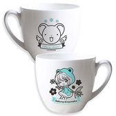 【曼迪】預購:庫洛魔法使-小牛奶杯-青蛙撞奶
