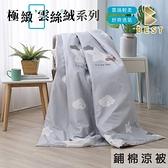 【BEST寢飾】雲絲絨 鋪棉涼被 150x180cm 星星相印 夏被 被子 冷氣被 舒柔棉 台灣製造
