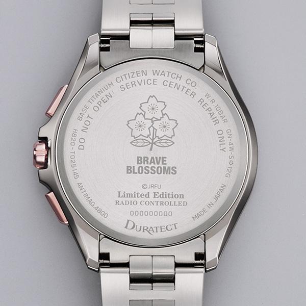 CITIZEN GENT'S光動能鈦金屬男腕錶-銀X玫瑰金