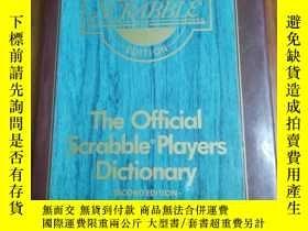 二手書博民逛書店The罕見Official Scrabble Players D