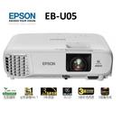新竹唯一EPSON指定經銷商【名展影音】 EPSON-EB-U05 商務會議亮彩投影機 另售EB-U42