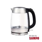 SAMPO  聲寶 - 1.7L玻璃快煮壺 KP-CB17G