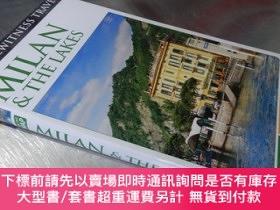 二手書博民逛書店DK罕見:Eyewitness Travel :Milan & The Lakes(32開軟精裝,有地圖)Y1