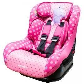 『121婦嬰用品館』納尼亞 0-4歲 安全汽座卡通動物系列-河馬粉(FB00296)