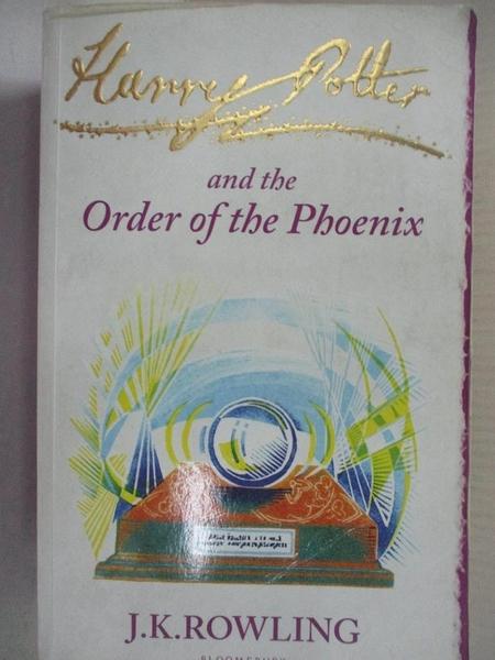 【書寶二手書T4/原文小說_DAK】Harry Potter and the Order of the Phoenix_J.K.羅琳