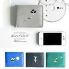 【Alice Shop 愛麗絲】文青 飛碟系列  短夾 錢包【pg530957662】預購