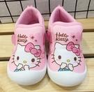 【震撼精品百貨】Hello Kitty 凱蒂貓~台灣製Hello kitty正版兒童休閒布鞋-粉大頭(13~16號)#20936