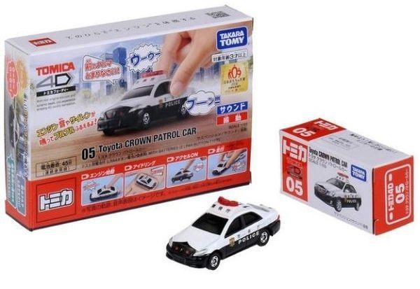 TOMICA多美小車4D -05 Toyota Crown 警車 442元
