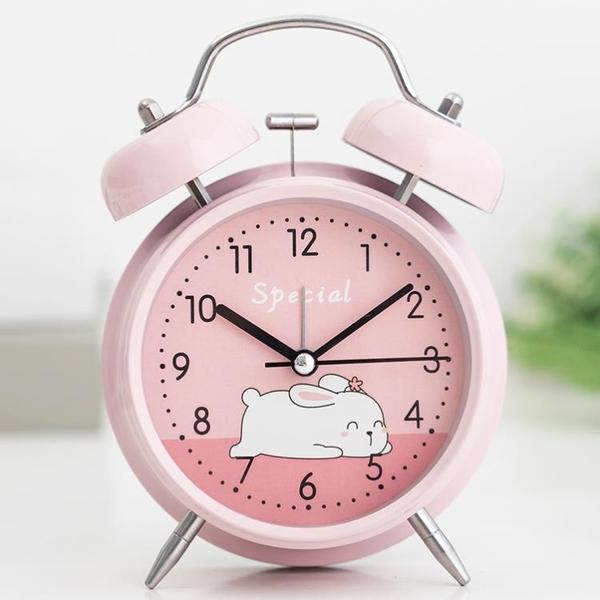 電子鬧鐘 充電鬧鐘學生用大音量起床神器兒童電子床頭臥室男女夜光靜小時表(母親節)