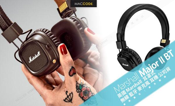 英國 Marshall Major II Bluetooth 耳罩式 無線 藍牙 麥克風 耳機 公司貨