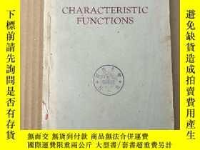 二手書博民逛書店characteristic罕見functions(P3599)Y173412