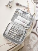 EACHY化妝包ins網紅雙層大容量手提化妝箱女大號便攜化妝品收納包