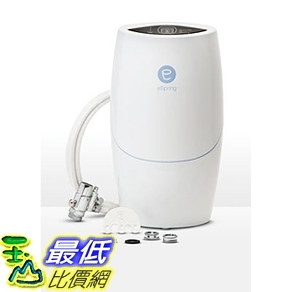 [7美國直購] eSpring 淨水器 100188 Espring Uv Water Purifier Above Counter Unit with Existing Faucet Kit