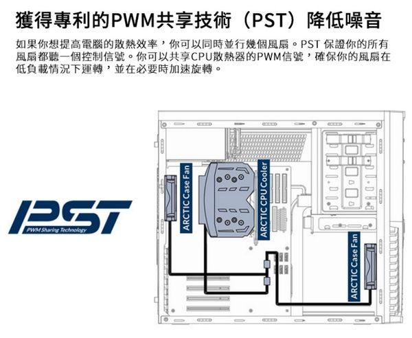 [地瓜球@] ARCTIC F8 PWM PST CO 8公分 靜音 風扇 PWM 溫控 日製滾珠軸承