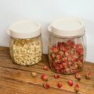 菱形玻璃密封罐(大號) 儲物罐 廚房 透...