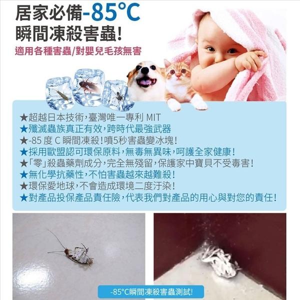 小強剋星寒冰噴霧-居家涼感急凍害蟲BA0121抗暑涼感噴霧除害蟲急速冰凍環保無毒