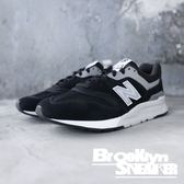 NEW BALANCE 997 NB 黑白 麂皮 反光Logo 情侶鞋 男女(布魯克林) 2018/12月 CM997HCC