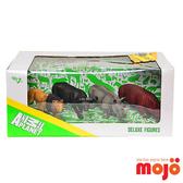 【Mojo Fun 動物星球頻道 獨家授權】精裝禮盒 (非洲動物4件組)