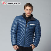 Grifone 防風│鵝絨│保暖│wind stopper│羽絨外套 A3E005『藍』