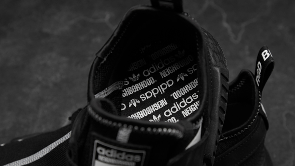 IMPACT Neighborhood x Adidas NMD R1 Primeknit 極東 黑 限量 聯名 DA8835