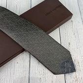 BRAND楓月 LOUIS VUITTON LV 路易威登 M73226 LOGO領帶 寬領帶 100%蠶絲 滿版