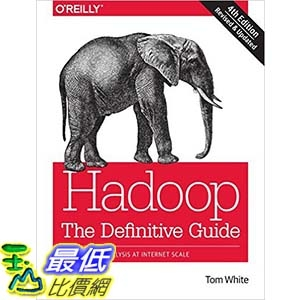 [美國直購] 2015美國暢銷書 Hadoop: The Definitive Guide