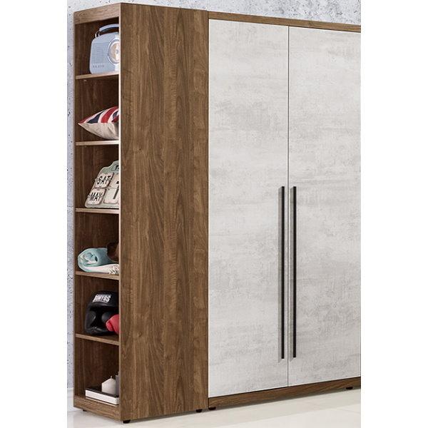 衣櫃 衣櫥 QW-101-34 緹諾4.6尺衣櫃【大眾家居舘】
