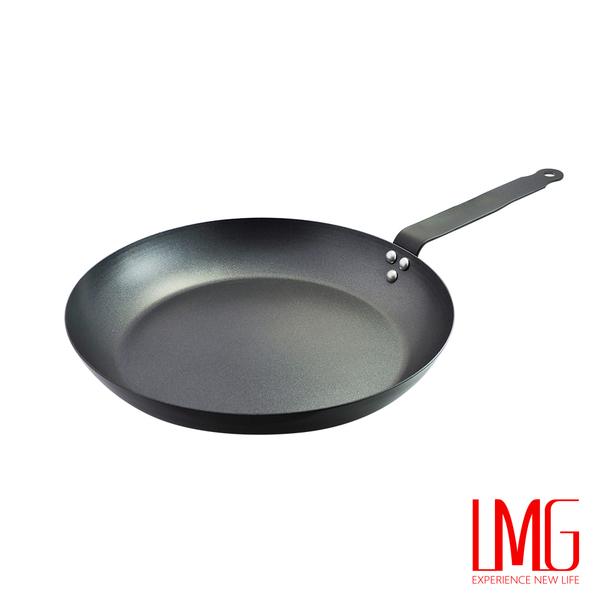 LMG▶不沾法式平底鐵鍋-28cm