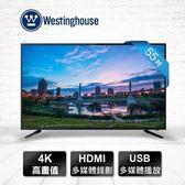 【Westinghouse 美國西屋】55吋 UHD液晶顯示器 /電視+視訊盒 DET-55A10K