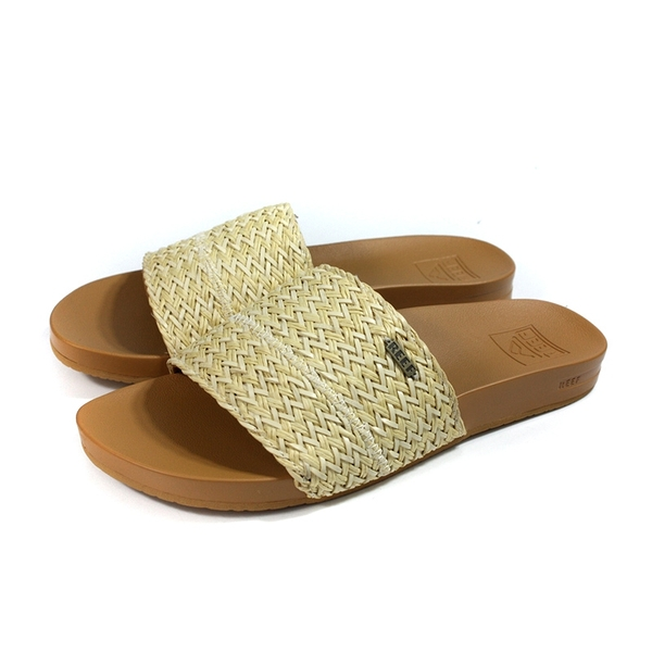 reef CUSHION SCOUT BRAIDS 戶外拖鞋 米色 編織 女鞋 CI3795 no410