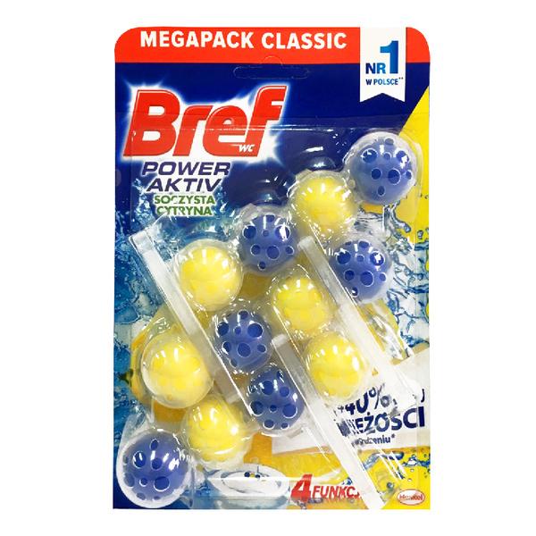 【德國 BREF】馬桶強力清潔芳香球 (檸檬/薰衣草/桉樹/藍旋風/薄荷尤加利)