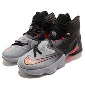 【四折特賣】Nike 籃球鞋 LeBron XIII EP LBJ On Court 運動鞋 灰 黑 漸層 男鞋【PUMP306】 807220-060