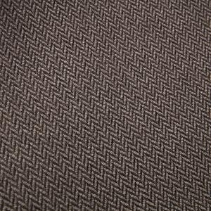 HOLA 素色緹花漢堡和室椅-人字紋棕