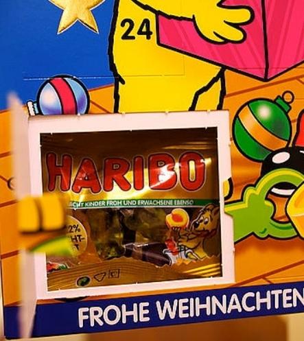 【德潮購】季節限定商品~德國 HARIBO 聖誕倒數日曆2019