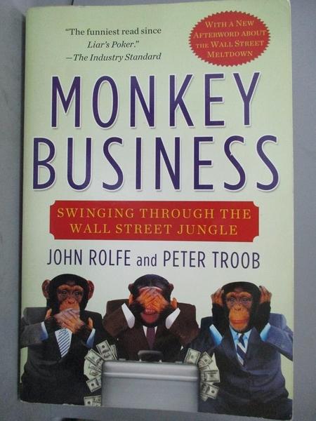 【書寶二手書T3/行銷_E3P】Monkey Business: Swinging Through the Wall S