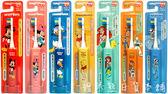 日本正版阿卡將米奇/米妮/小熊維尼/玩具總動員/胡迪/ 兒童電動牙刷。日貨 (JP90008)