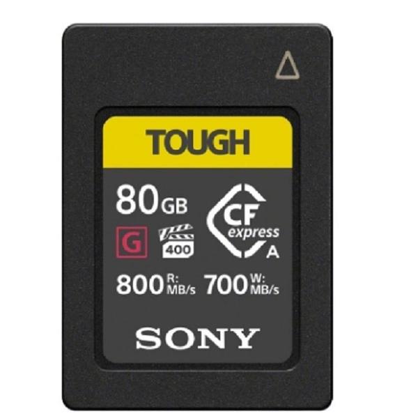 【南紡購物中心】SONY CEA-G80T 80G 80GB 800MB/S CFexpress Type A TOUGH 高速記憶卡 (公司貨)
